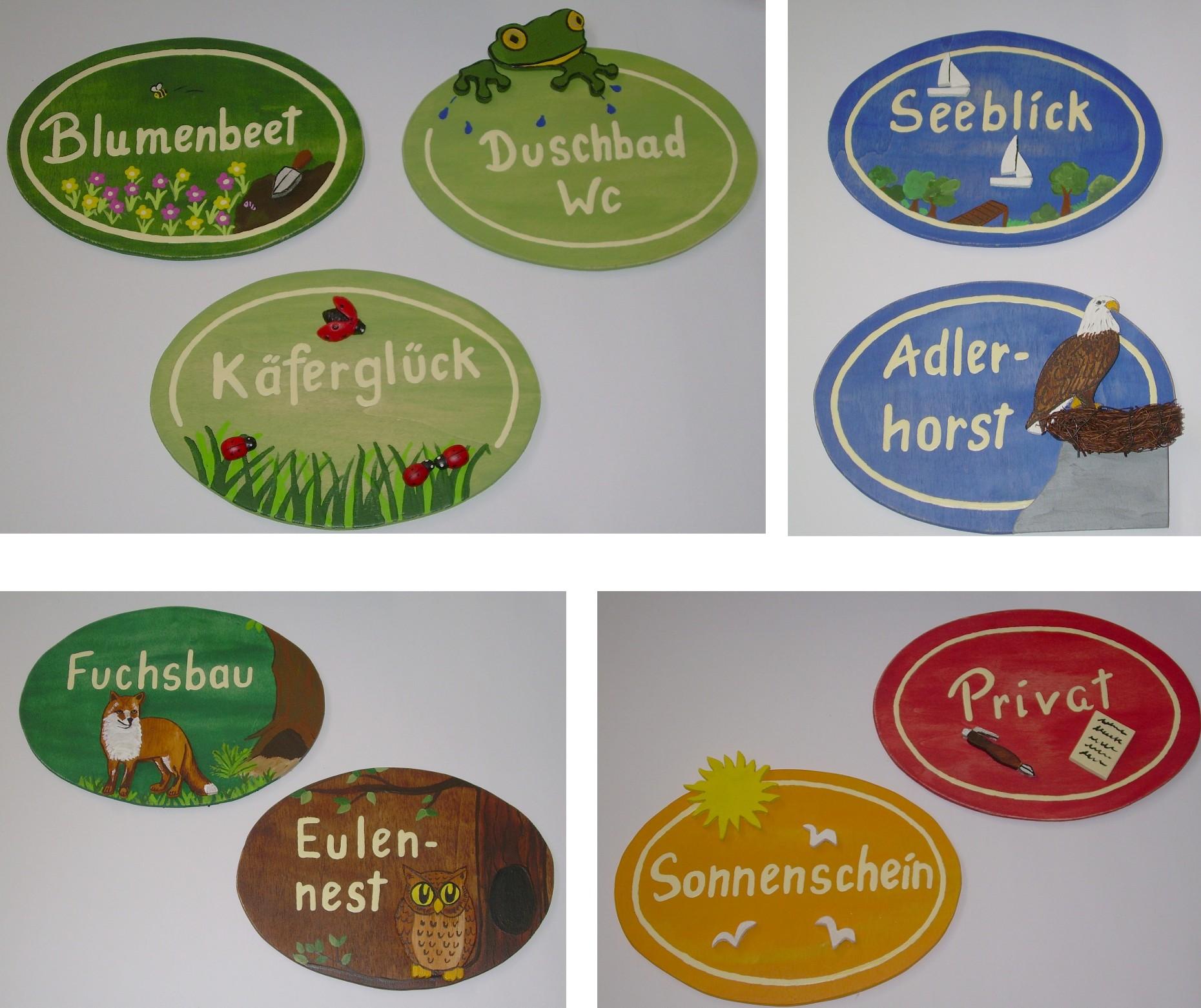 Ferienwohnung zimmerschild originelle deko geschenke for Originelle zimmer deko