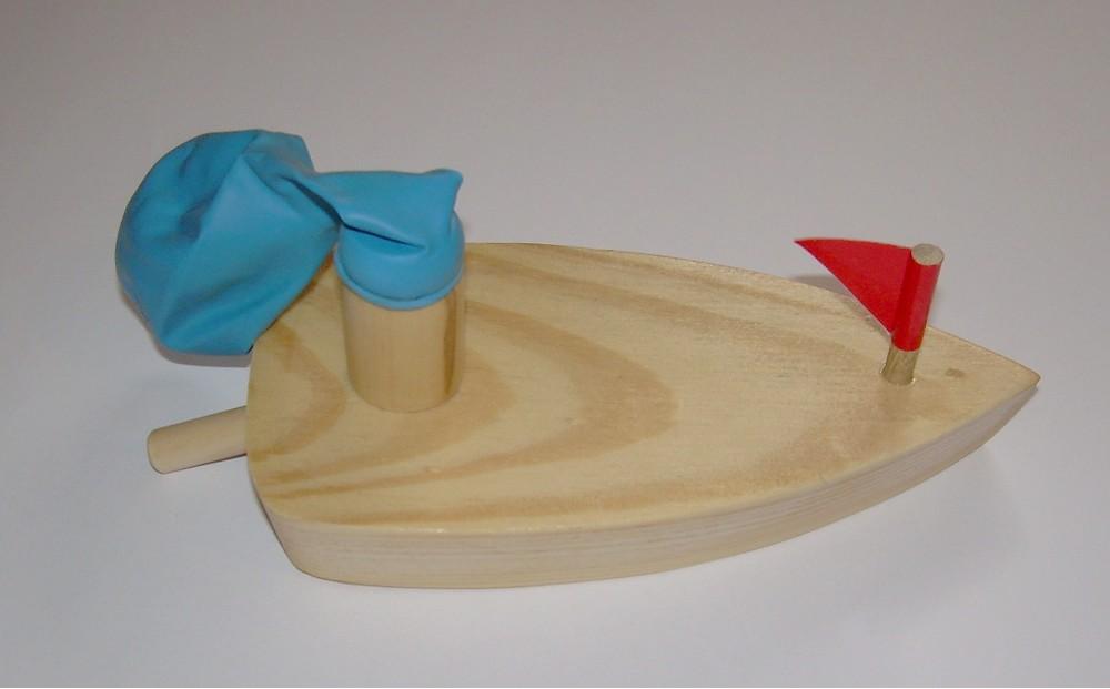 ballonboot aus holz originelle deko geschenke. Black Bedroom Furniture Sets. Home Design Ideas