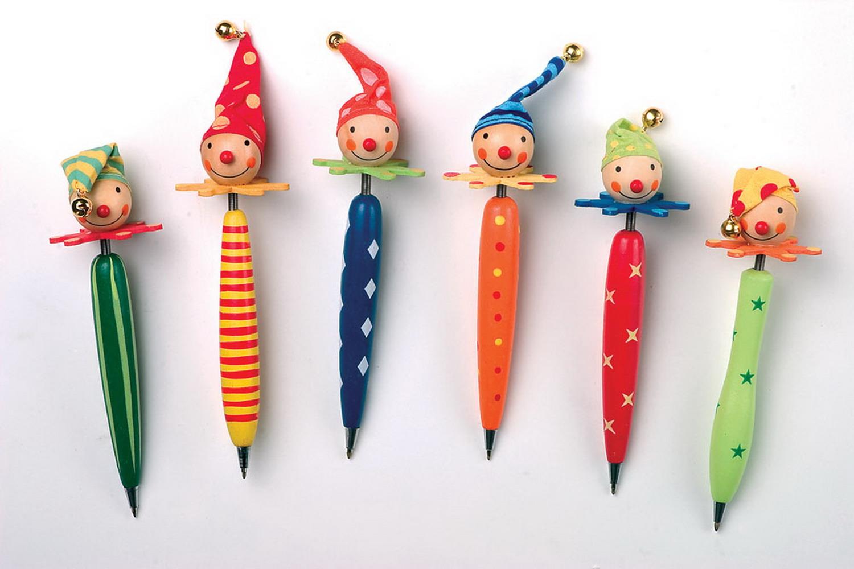 Kugelschreiber clown schult te kindergeburtstag - Clown basteln kindergarten ...