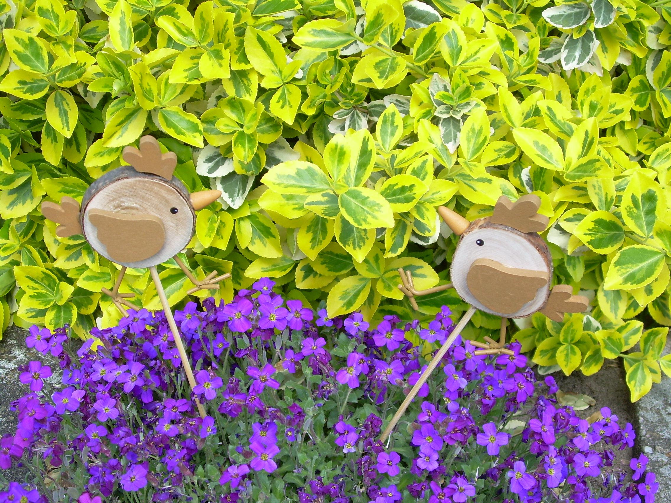 Dekostecker vogel originelle deko geschenke for Deko geschenke shop